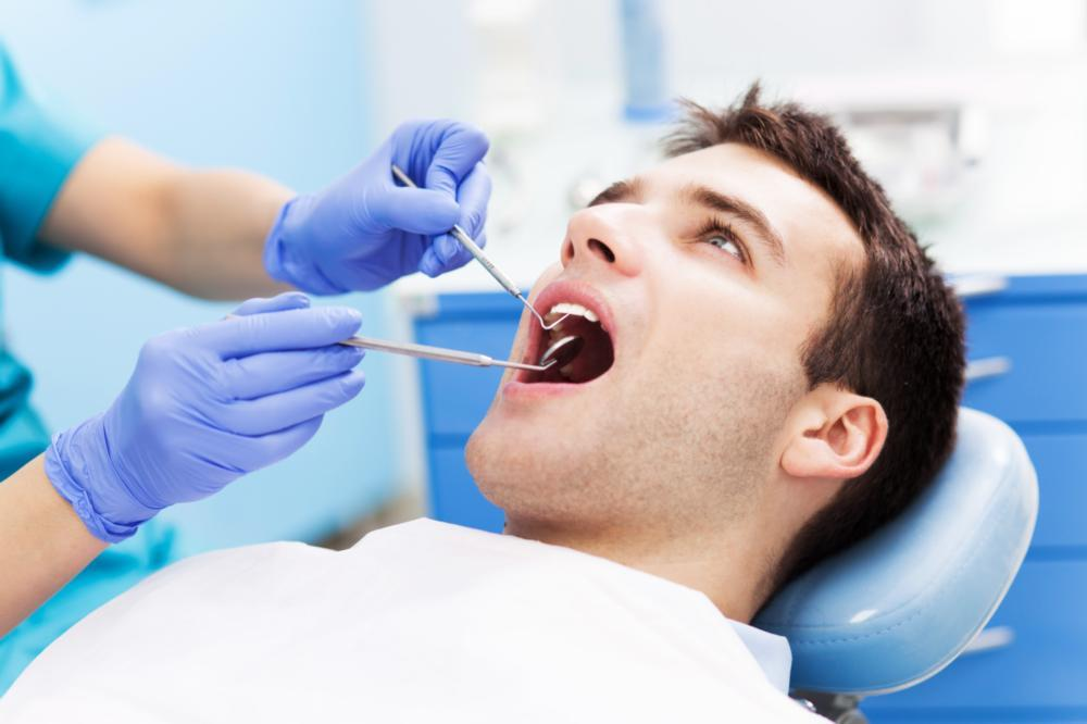 Man at Dentist | Dental Cleanings Salem OR